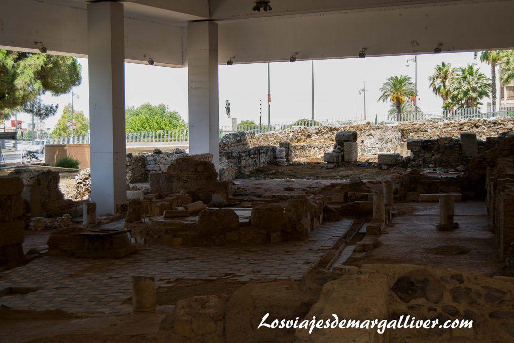 Zona arqueológica de morerías en Mérida - Los viajes de Margalliver
